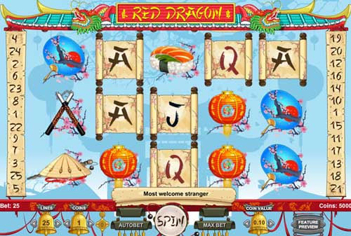 Red Dragon free slot