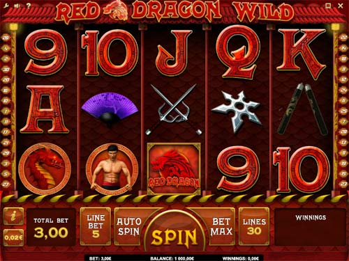 Red Dragon Wild free slot