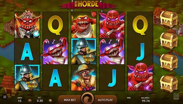 Red Horde casino slot