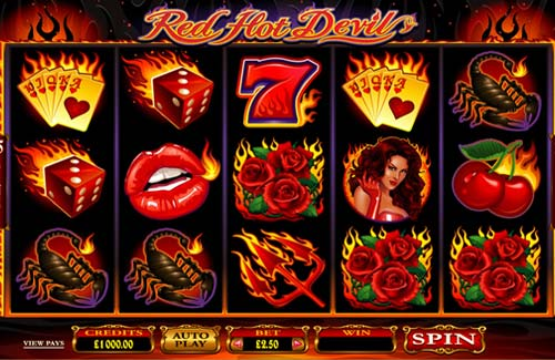 Red Hot Devil free slot