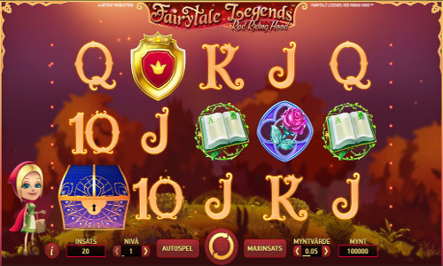 Fairytale Legends Red Riding Hood free slot