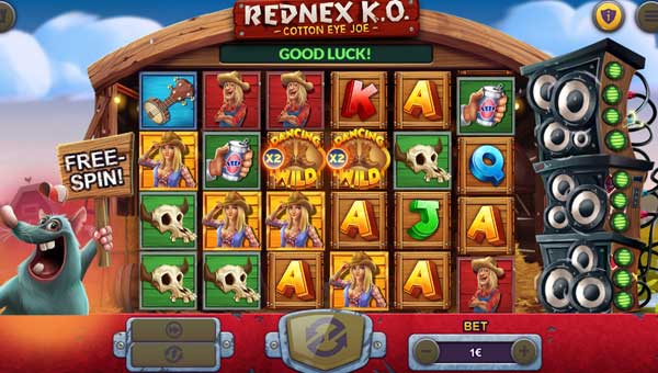 Rednex KO casino slot