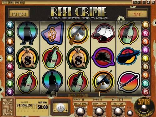 Reel Crime Bank Heist free slot