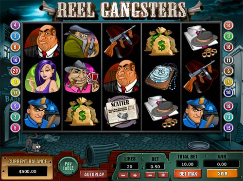 Reel Gangsters casino slot
