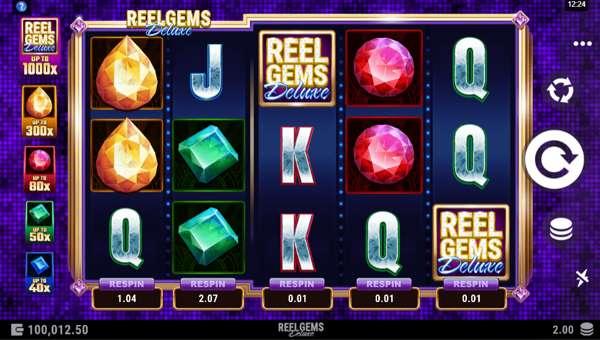 Reel Gems Deluxe free slot