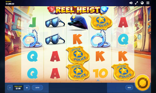 Reel Heist free slot