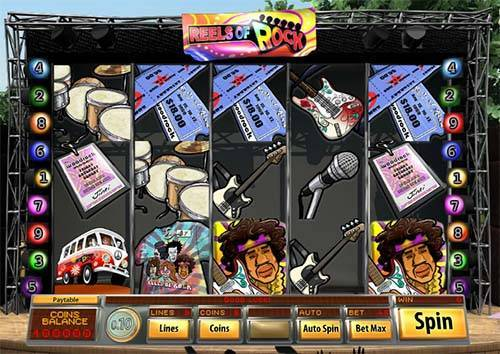 Reels of Rock free slot