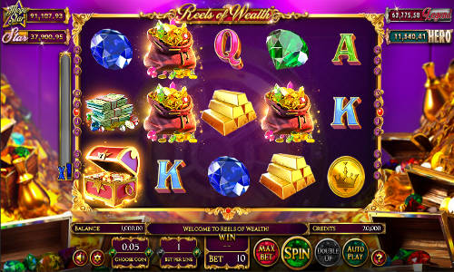 Reels of Wealth free slot