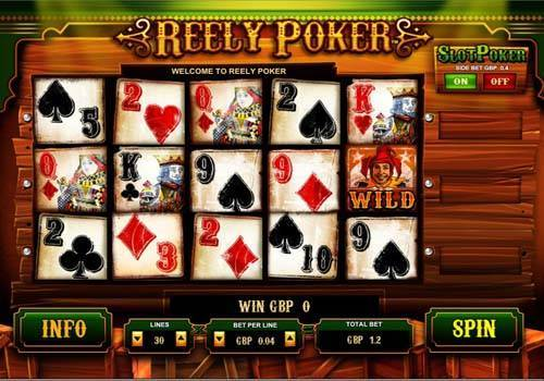 video poker slot machine gratis