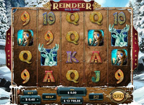 Reindeer Wild Wins™ Slot Machine Game to Play Free in Genesis Gamings Online Casinos