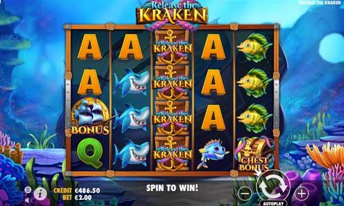 Release the Kraken free slot