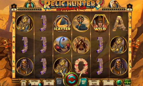 Relic Hunters and the Book of Faith free slot
