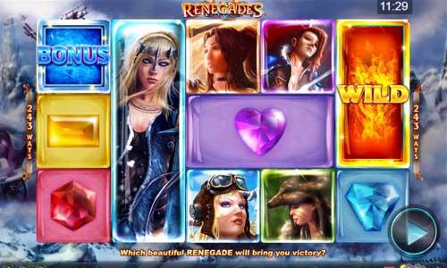 Renegades free slot