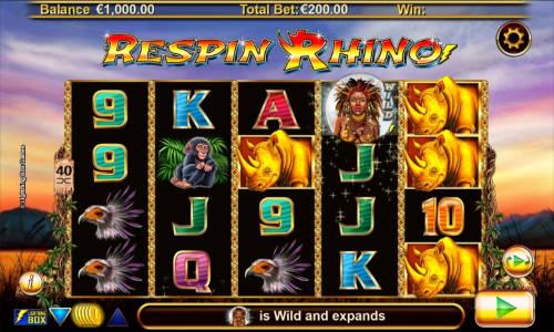 Respin Rhino free slot