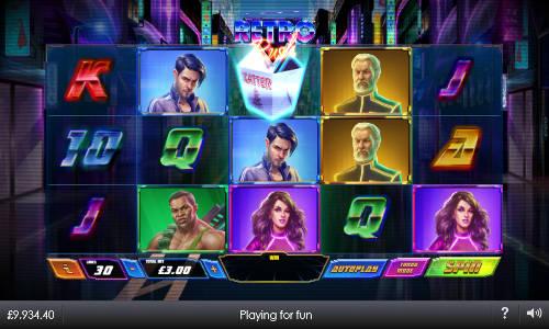 Retro Rush free slot
