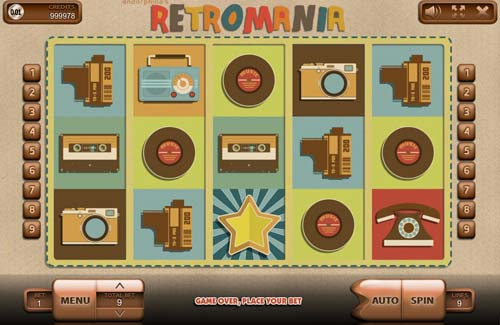 Retromania free slot