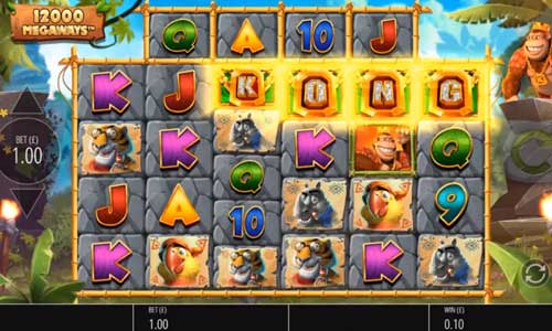 Return of Kong Megawaysincreasing multiplier slot