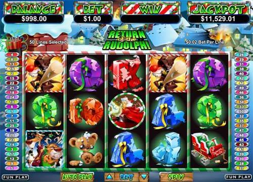 Return of the Rudolph free slot