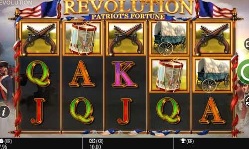 Revolution Patriots Fortunesymbol upgrade slot