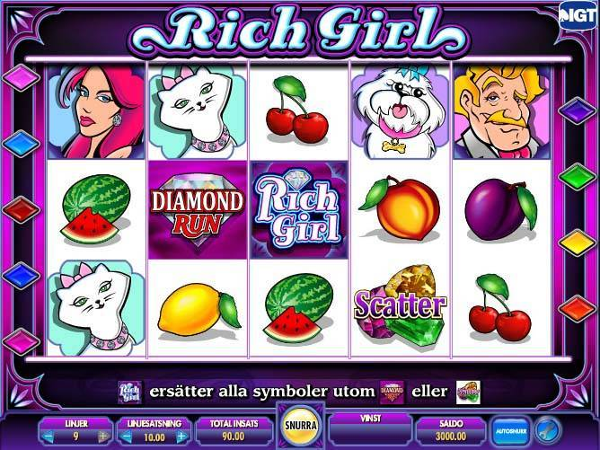 Shes a Rich Girl free slot