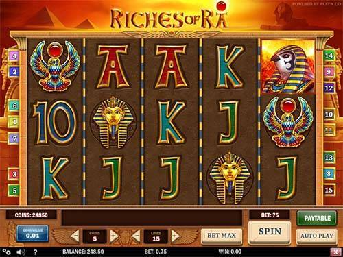 Riches Of Rasticky wilds slot