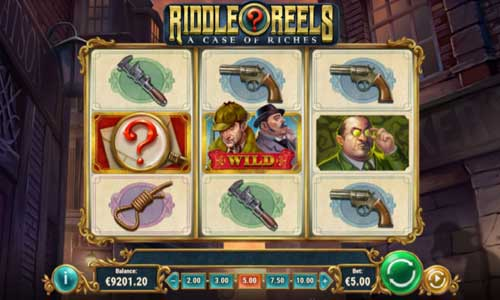 Riddle Reels A Case of Riches new slot