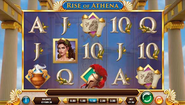 Rise of Athena free slot