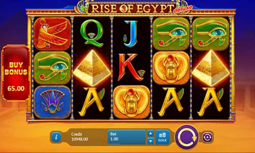 Rise of Egypt Deluxe casino slot