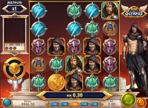 Rise of Olympuscluster pays slot