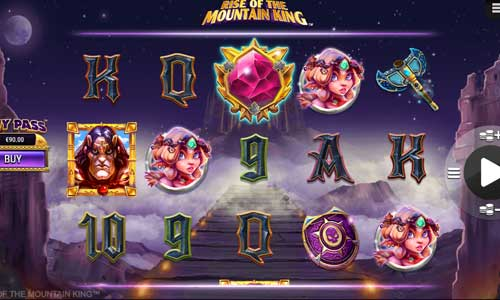 Rise of the Mountain Kingincreasing multiplier slot