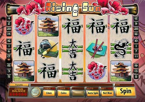 Rising Sun casino slot