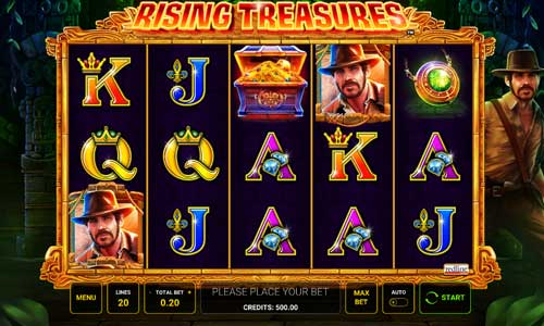 Rising Treasuressymbol upgrade slot