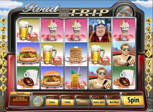Road Trip casino slot