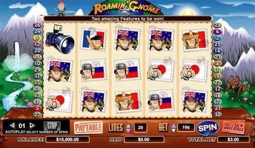 Roamin Gnome free slot