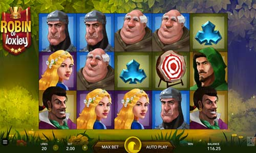 Robin of Loxley free slot