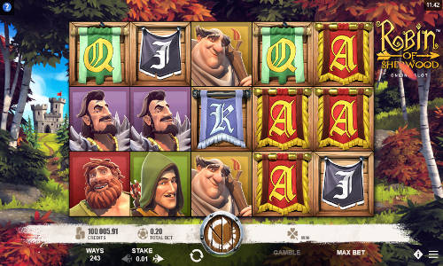 Robin of Sherwood free slot