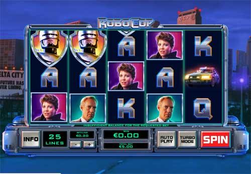Robocop free slot