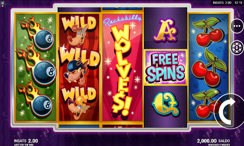 Rockabilly Wolves free slot