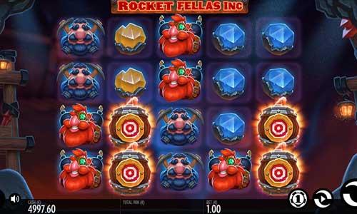Rocket Fellas Incsticky wilds slot