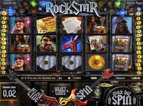 Rockstar free slot