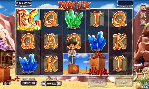 Rockys Gold free slot