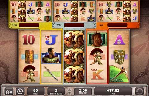 Roman Chariots free slot