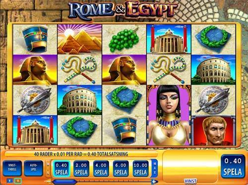 Rome and Egypt free slot
