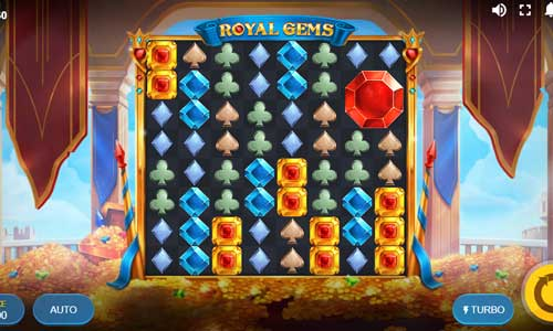 Royal Gemscluster pays slot