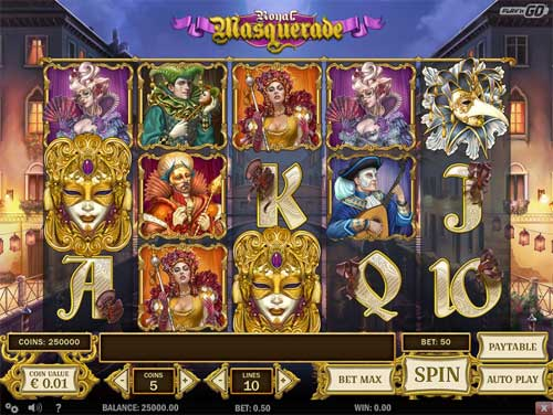 Royal Masquerade free slot
