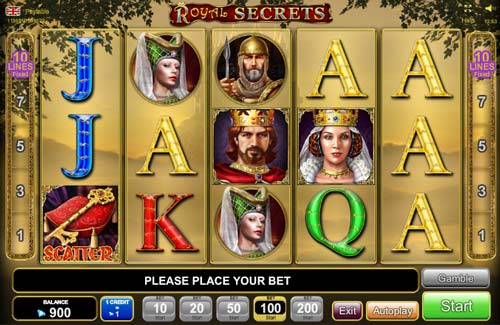 free online casino slot royal secrets