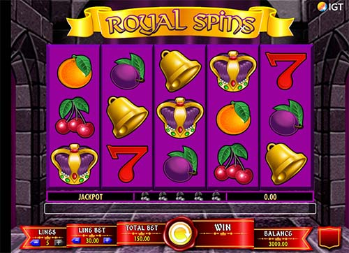 Royal Spins free slot