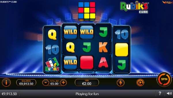 Rubiks Cube free slot