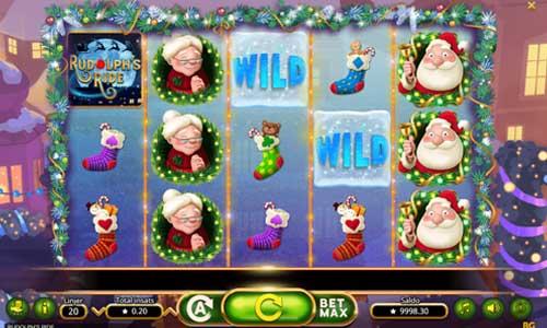 Rudolphs Ride free slot