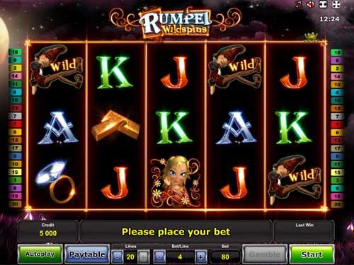 Rumpel Wildspins free slot